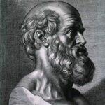 Hipokrates popiersie