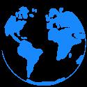 Nasz obrazek ziemia planeta przeźroczysty
